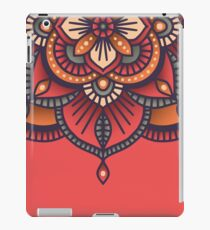 Red Mandala  iPad Case/Skin