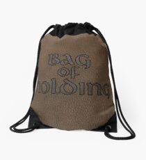 Bag of Holding- Leather Drawstring Bag