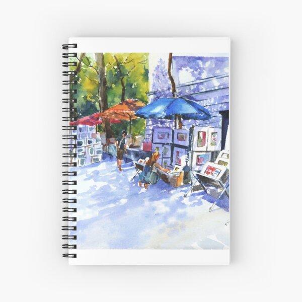 Art sale Spiral Notebook