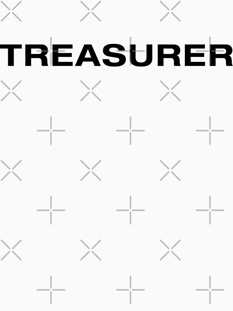 Treasurer (BlackText) by RoufXis