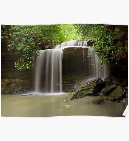 27' Falls on Glady Creek Poster