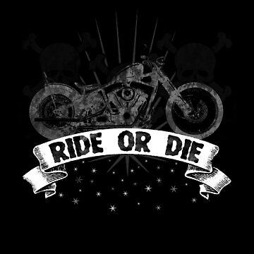 Ride or Die Motorcycle by galacticrad