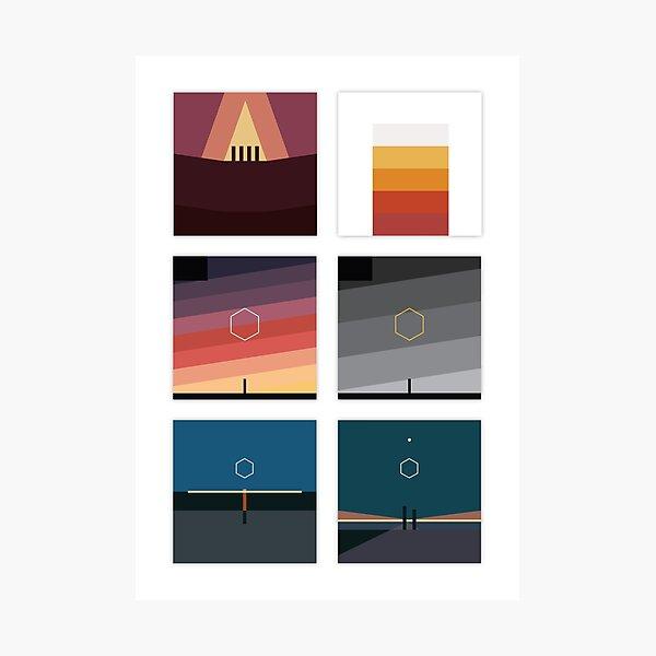 ODESZA Minimalist Album Artwork Photographic Print