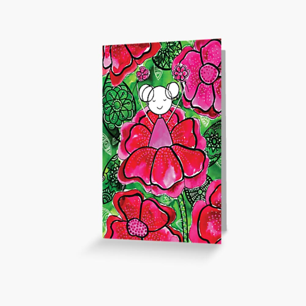 Dare to BLOOM Greeting Card