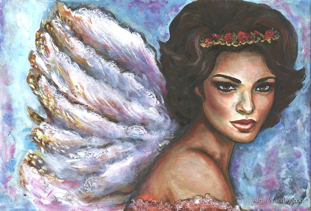 Angel on a Mission by Alga Washington