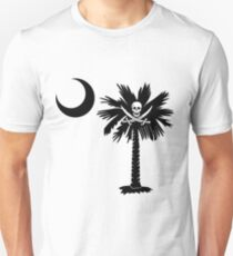 Calico Jack Pirate Palmetto Moon T-Shirt