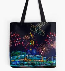 Saturday Night At Coney Island Tote Bag