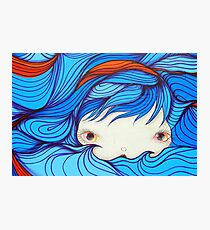 Dreamscape Girl Photographic Print