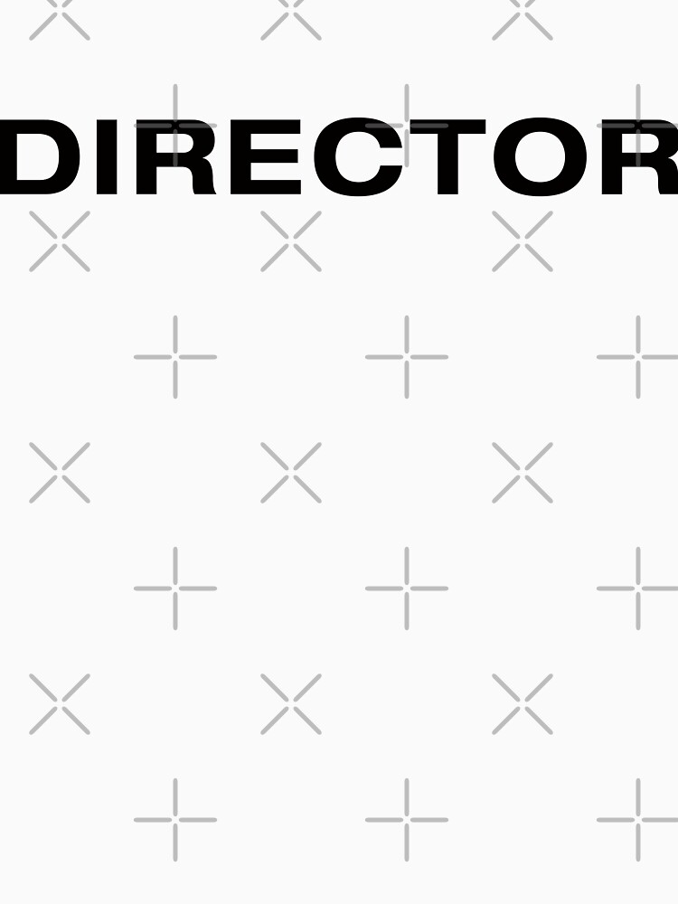 Director (BlackText) by RoufXis