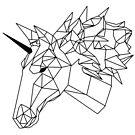 «Unicornio Geometrico I Low Poly I Line Art» de Unpredictable Lab