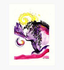 Montseny Mountains Kunstdruck