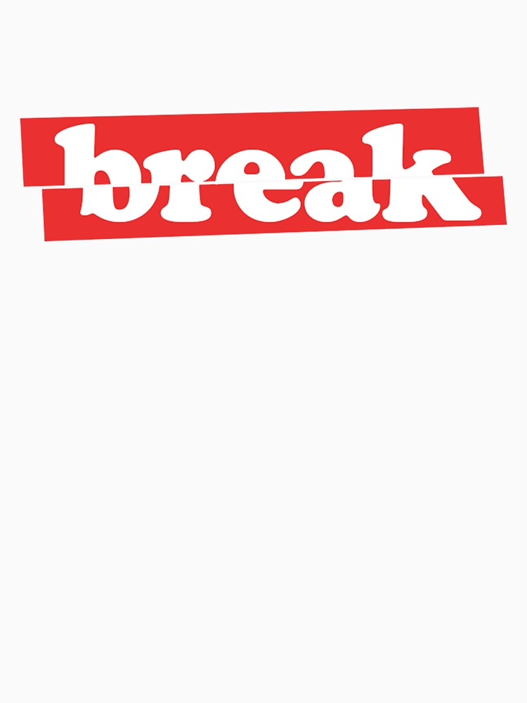 'break' Minimal Cool Design by doughballdesign