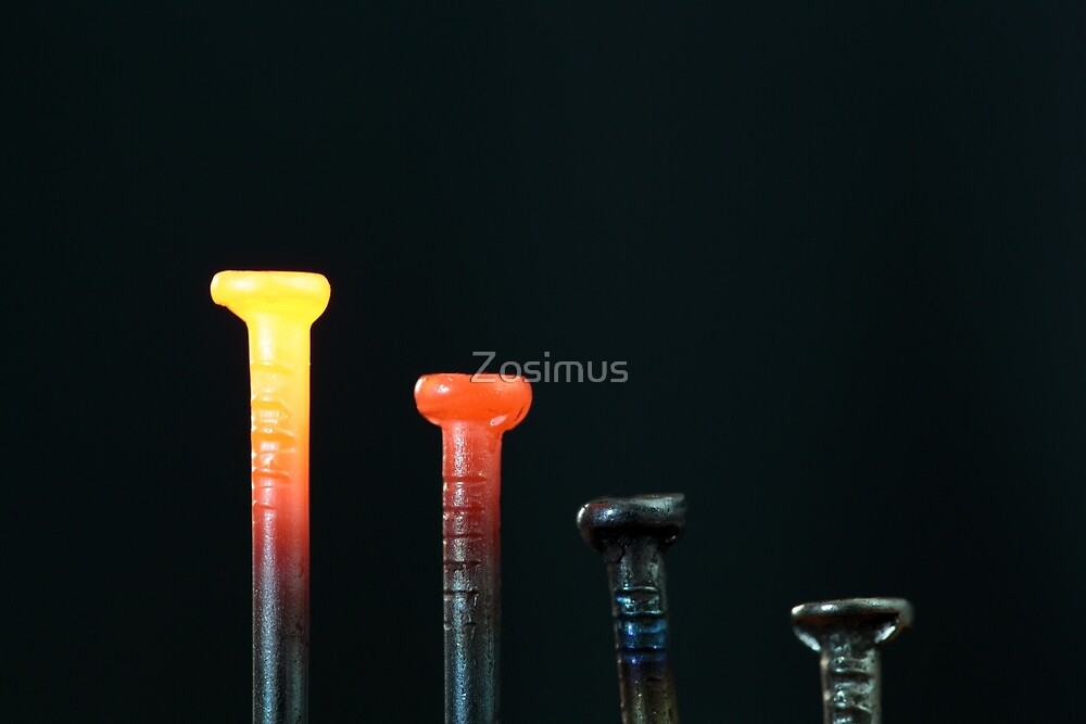 Glowing Nails by Zosimus