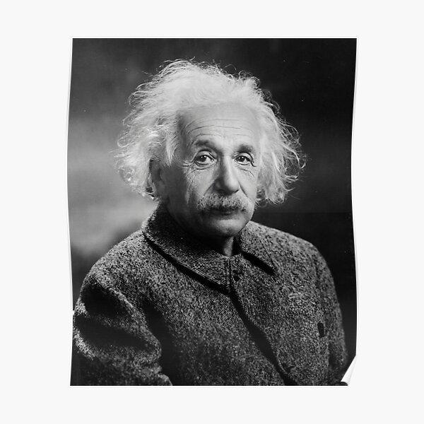 Albert Einstein Póster