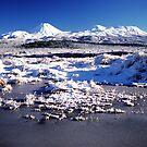 Mounts Ngaruhoe and Tongariro by Paul Mercer