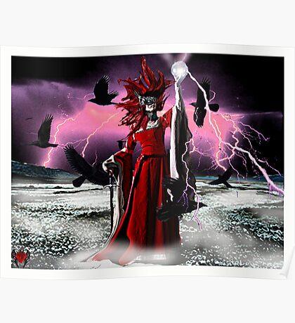 Lightning Queen Poster