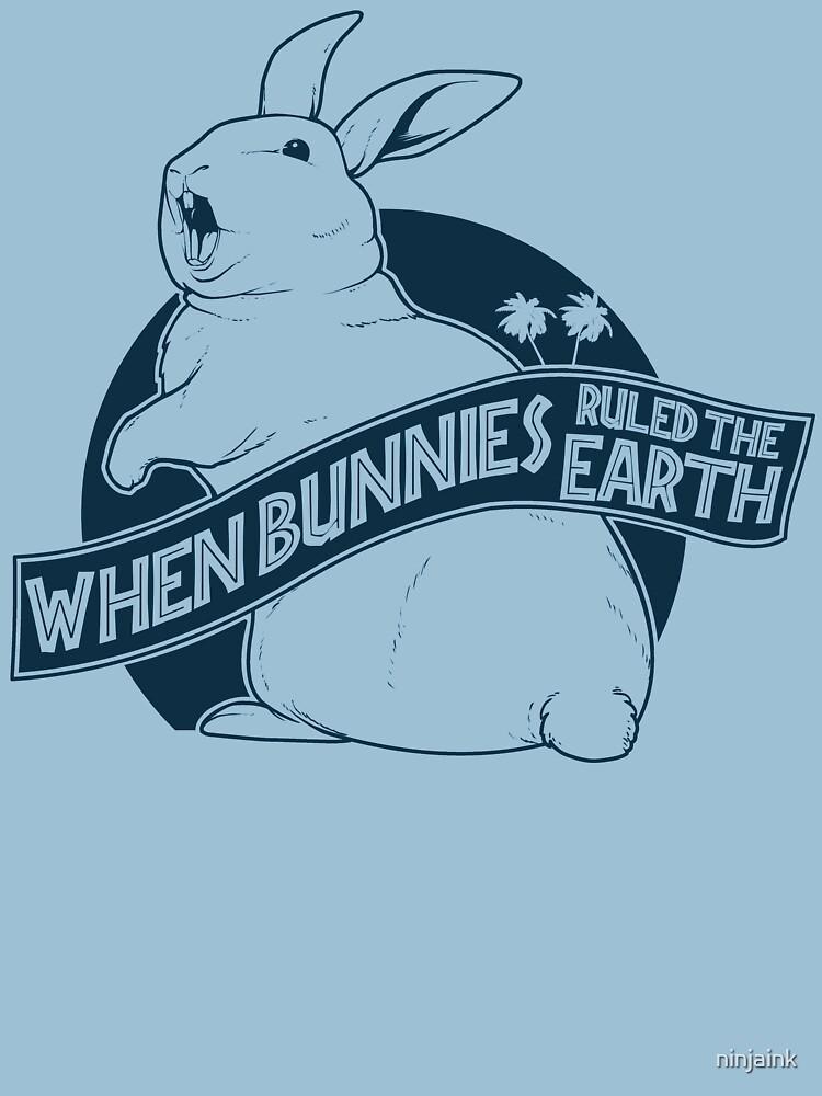 When Buns Ruled the Earth by ninjaink