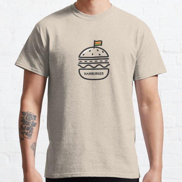 Actual Hamburger from Hamburger Classic T-Shirt