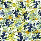 abstract floral pattern by clemfloral