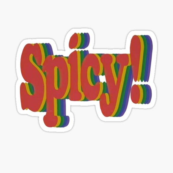 spicy! retro Sticker