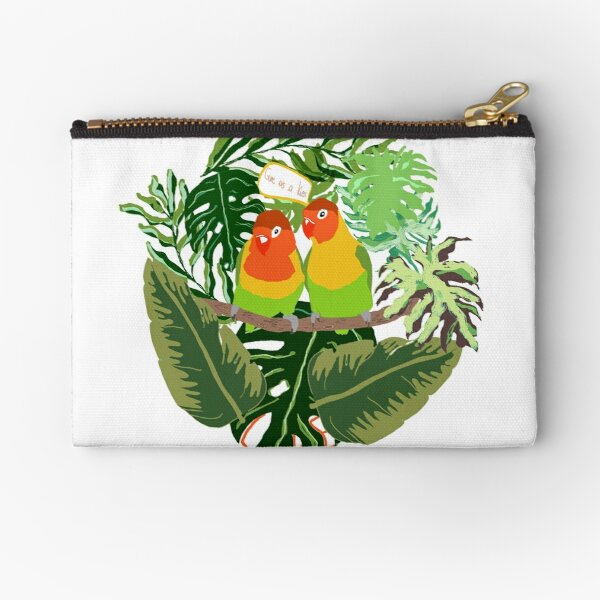 Give us a kiss Zipper Pouch