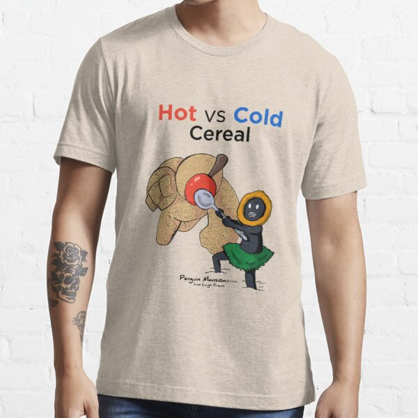 Hot vs Cold Cereal Essential T-Shirt
