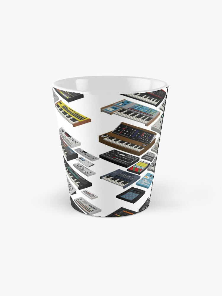 Alternate view of Synthesizer Musician and Collector Mug