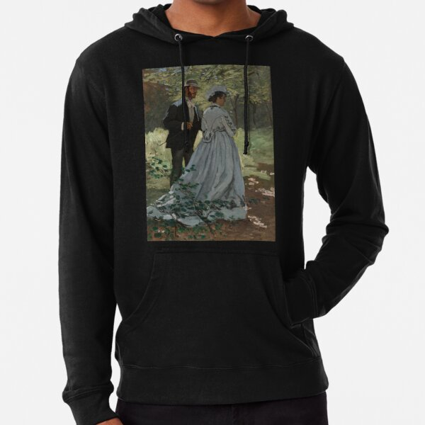 Bazille and Camille Lightweight Hoodie
