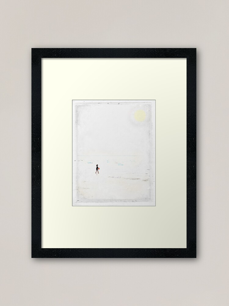 Alternate view of Caramel Skies 2 Framed Art Print