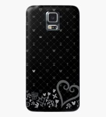Funda/vinilo para Samsung Galaxy Kingdom Hearts Pattern2