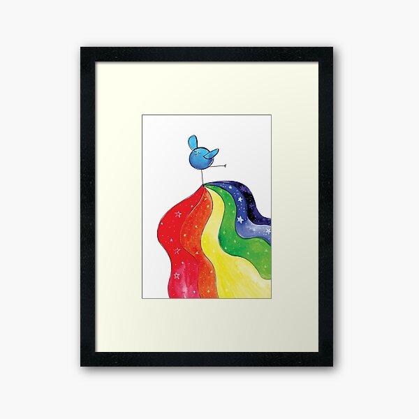 Chakra LOVE Framed Art Print
