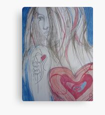 Know Your Own Heart Metal Print