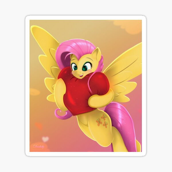 Fluttershy Heart And Hooves Day  Sticker