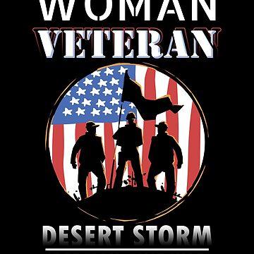 Woman Veteran Desert Storm Persian Gulf War Women by fantasticdesign