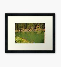 Rollins Lake Framed Print