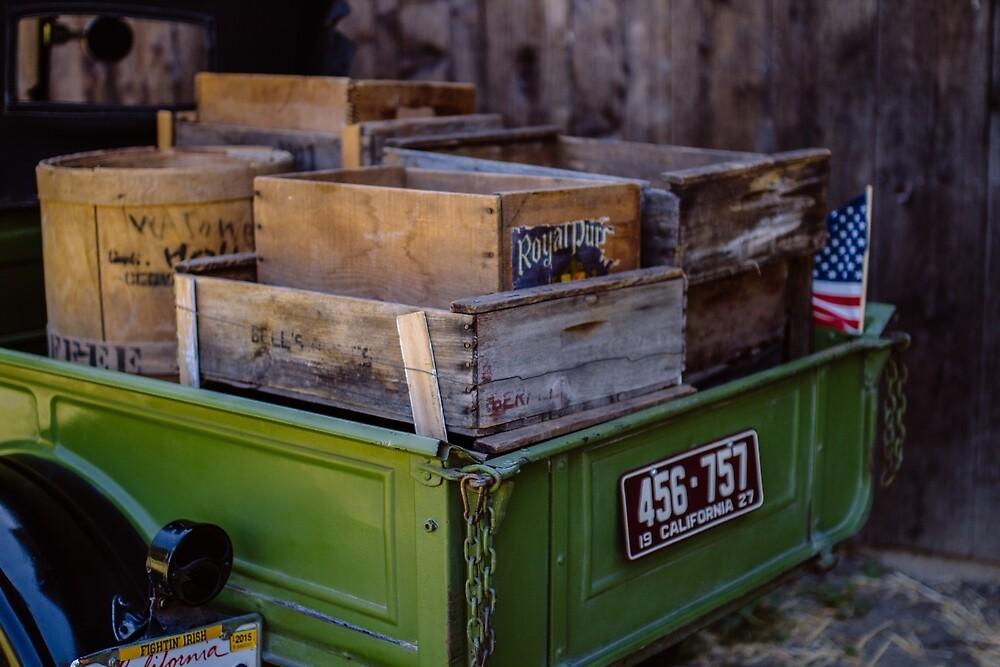 Trucks and Crates by nataliebaeza