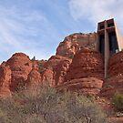 Chapel of the Holy Cross, Sedona, Arizona by Barb White