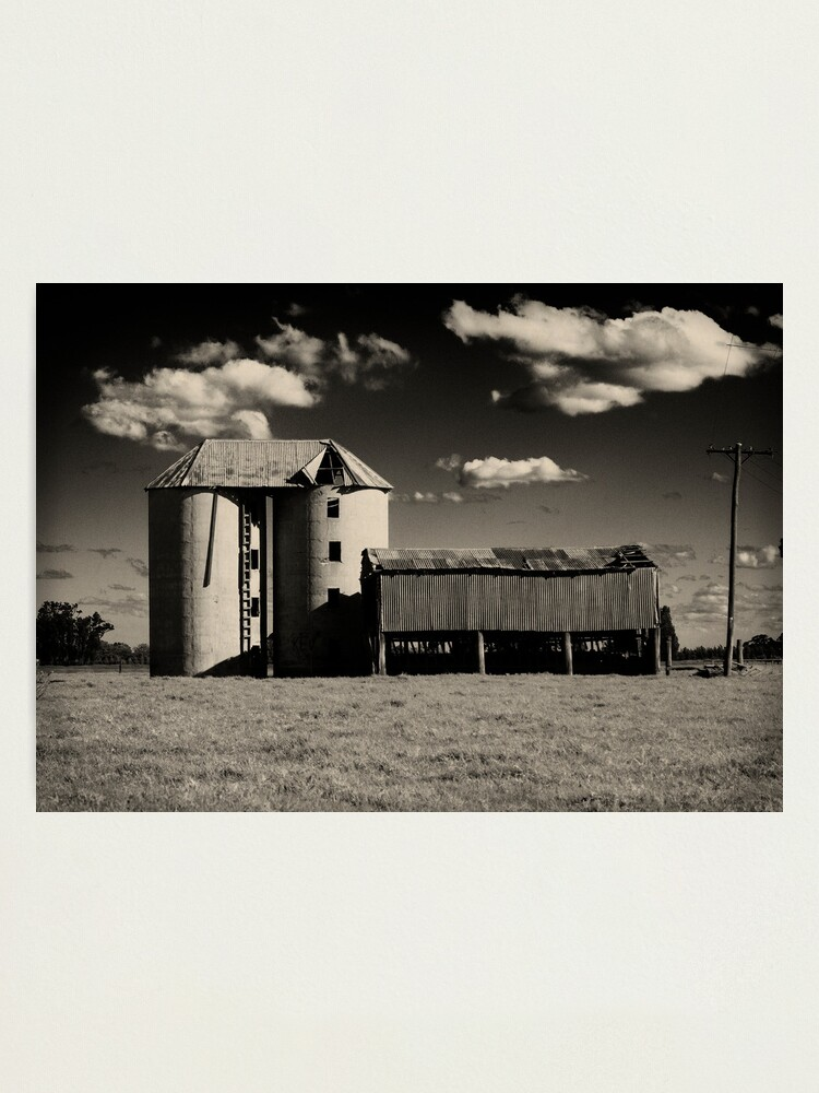 Alternate view of Silos at Shoalhaven 2 Photographic Print