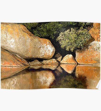 Tidal River Serenity Poster