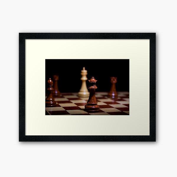 Checkmate Framed Art Print