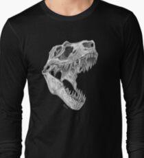 T-rex skull Long Sleeve T-Shirt