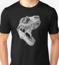 T-Rex Schädel Unisex T-Shirt