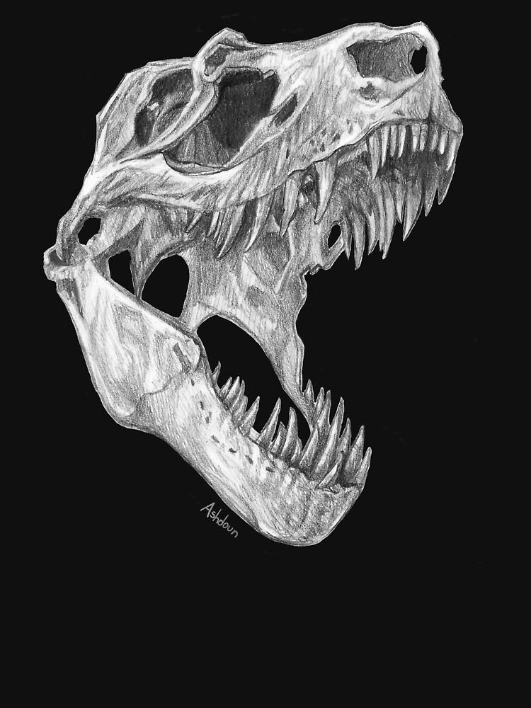 T-rex skull by e-pona