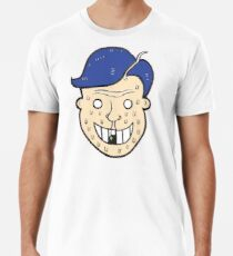 Broken Sweet Tooth Cartoon Character Head Premium T-Shirt