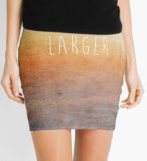 Larger Than Life Mini Skirt