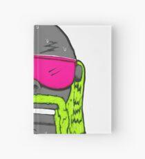80s Neon Wrestler Cartoon Head Hulk Macho Hardcover Journal