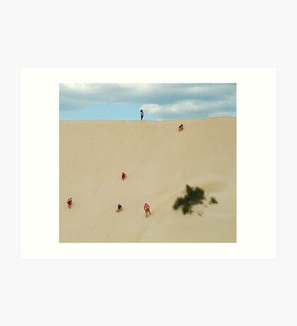 Dune Scramble,Robe South Australia Art Print