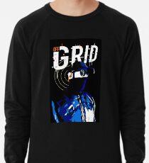 Hacker Sci-Fi Cyberpunk Illustration Off_Grid  Lightweight Sweatshirt