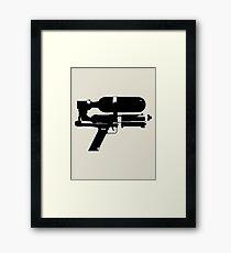 Water-Gun Framed Print
