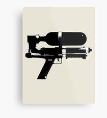 Water-Gun Metal Print